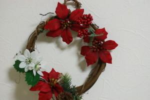 クリスマスリース (4)