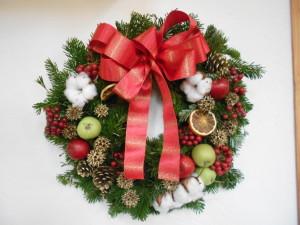 クリスマスリース (6)