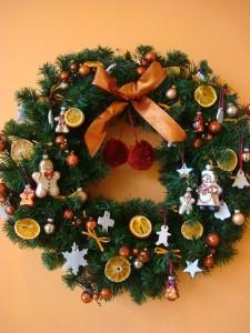 クリスマスリース (8)