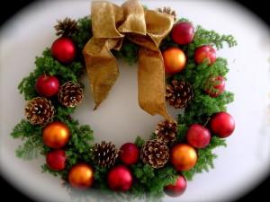 クリスマスリース (9)