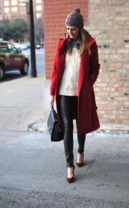 赤いコート (1)