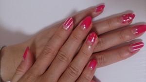 ピンクネイル (11)