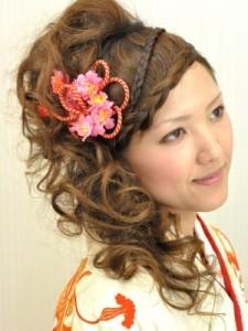 和装ウェディングヘアスタイル (128)