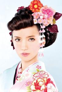和装ウェディングヘアスタイル (6)