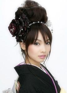 和装ウェディングヘアスタイル (118)