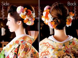 和装ウェディングヘアスタイル (44)