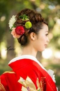 和装ウェディングヘアスタイル (57)