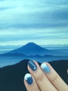富士山ネイル (2)