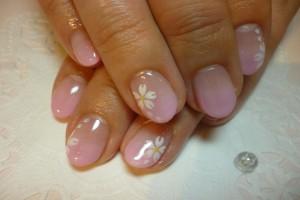 桜ネイル (11)