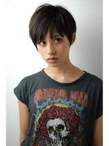 黒髪ショート (27)