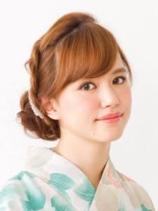 浴衣お団子 (22)