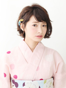 浴衣ショートヘアアレンジ (19)