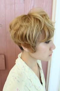 刈り上げマッシュヘア (2)