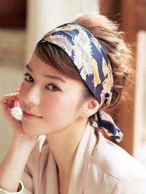 スカーフヘアアレンジ (1)