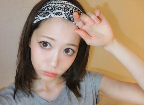 スカーフヘアアレンジ (2)