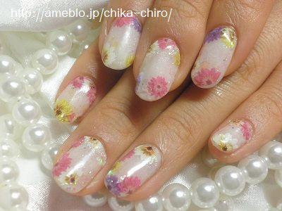 花シールネイル (95)