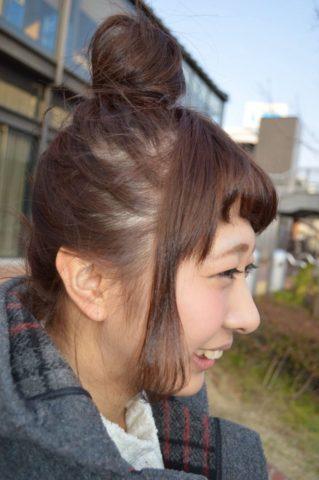 ショートボブお団子 (72)