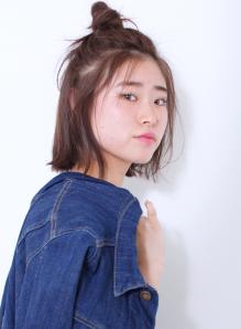 ショートボブお団子 (45)