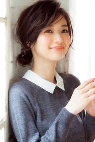 ショートボブお団子 (55)