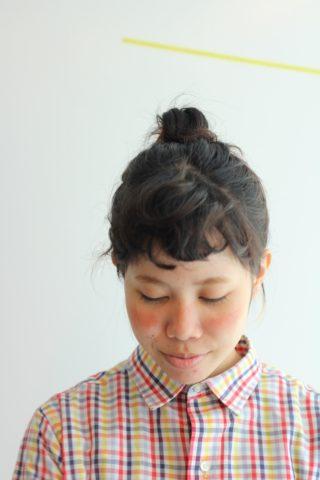 ショートボブお団子 (58)