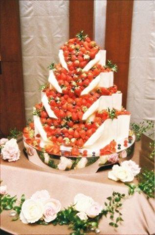 ウェディングケーキ (2)