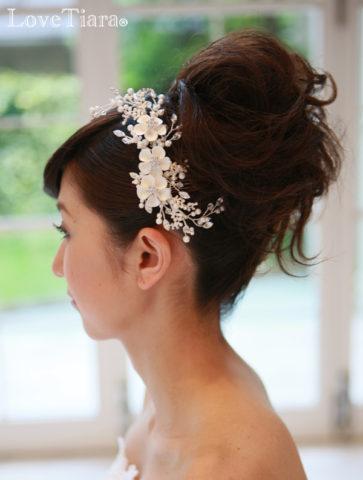 ウェディング髪飾り (6)