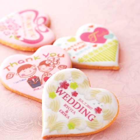 ウェディングアイシングクッキー (12)
