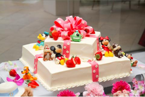 ウェディングケーキ (3)