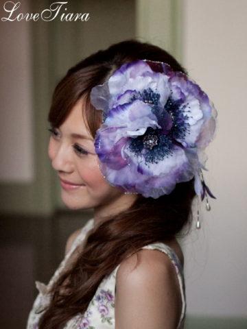 ウェディング髪飾り (13)